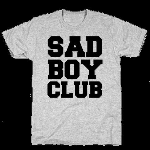 Sad Boy Club Mens T-Shirt
