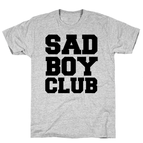 Sad Boy Club Mens T-Shirt