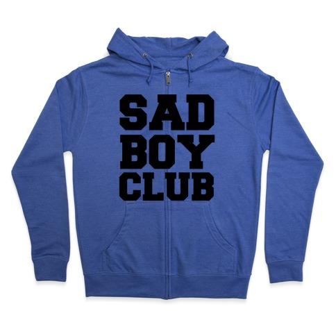 Sad Boy Club Zip Hoodie