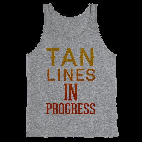 Tan Lines In Progress Tank Top