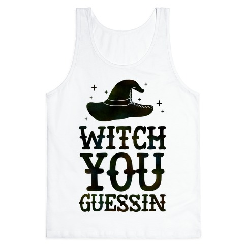 Witch You Guessin' Tank Top
