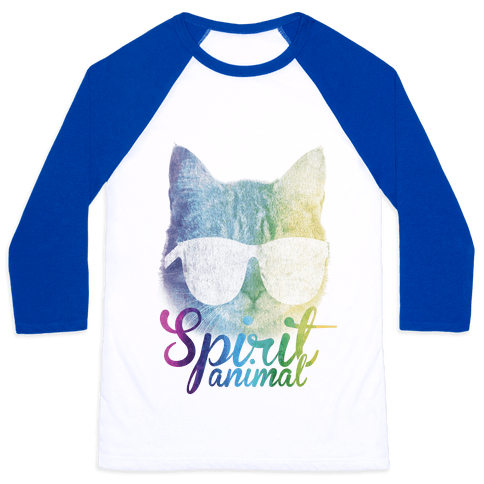 Spirit Animal Baseball Tee
