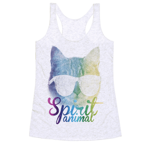 Spirit Animal Racerback Tank Top