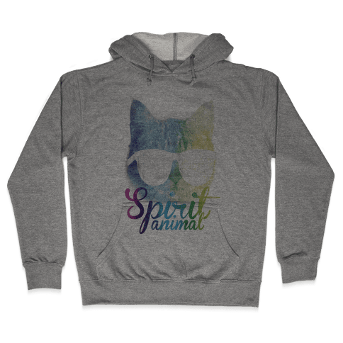 Spirit Animal Hooded Sweatshirt