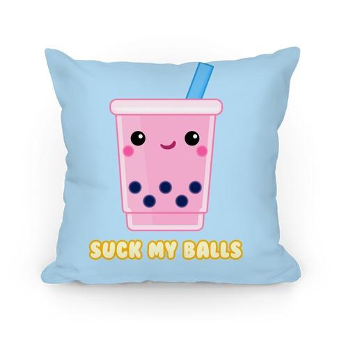 Suck My Balls Pillow