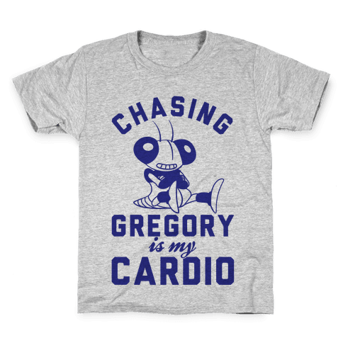 Chasing Gregory Is My Cardio Kids T-Shirt