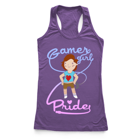 Gamer Girl Pride Racerback Tank Top