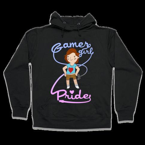 Gamer Girl Pride Hooded Sweatshirt