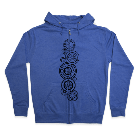 The Doctor's Name Zip Hoodie