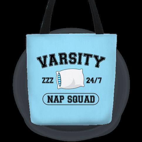 Varsity Nap Squad Tote