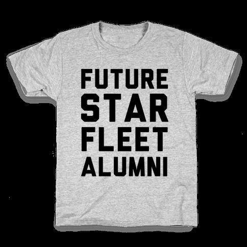 Future Star Fleet Alumni Kids T-Shirt