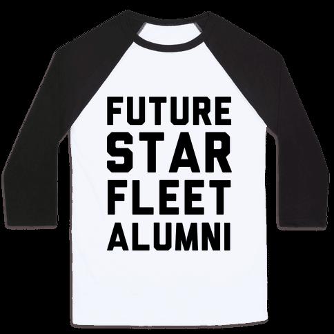 Future Star Fleet Alumni Baseball Tee