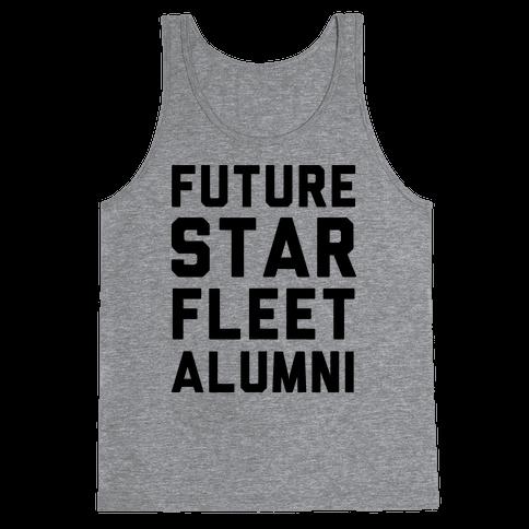 Future Star Fleet Alumni Tank Top