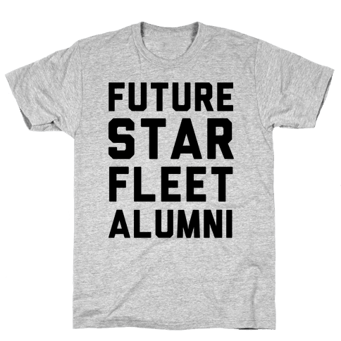 Future Star Fleet Alumni Mens T-Shirt