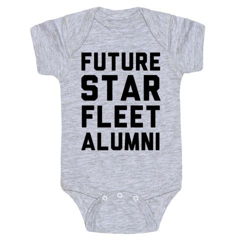 Future Star Fleet Alumni Baby Onesy