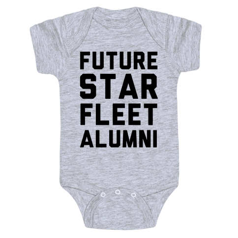Future Star Fleet Alumni Baby Onesy