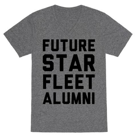 Future Star Fleet Alumni V-Neck Tee Shirt
