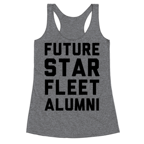 Future Star Fleet Alumni Racerback Tank Top