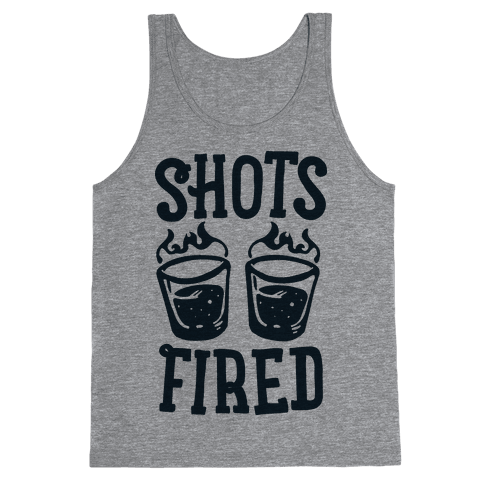 Shots Fired Tank Top