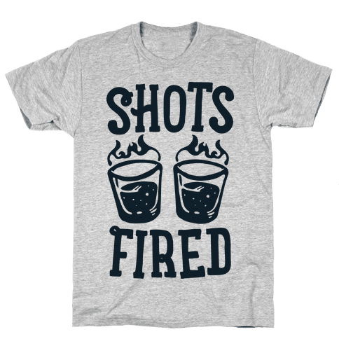 Shots Fired Mens T-Shirt