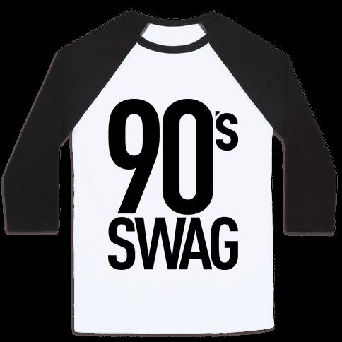 90's Swag Baseball Tee