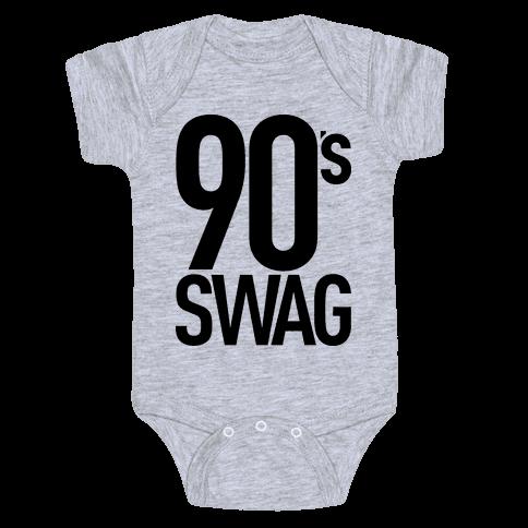 90's Swag Baby Onesy