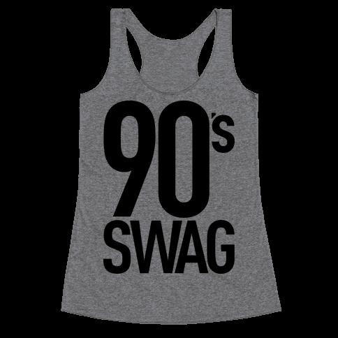 90's Swag Racerback Tank Top