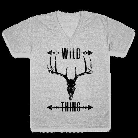 Wild Thing V-Neck Tee Shirt
