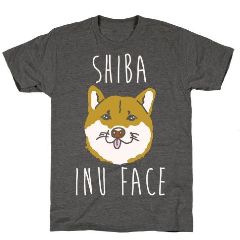 Shiba Inu Face T-Shirt