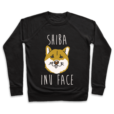 Shiba Inu Face Pullover