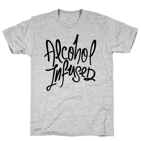 Alcohol Infused Mens/Unisex T-Shirt