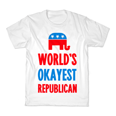 World's Okayest Republican Kids T-Shirt