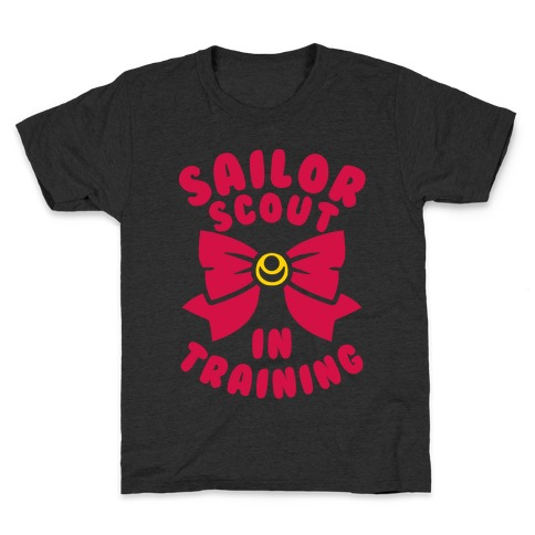 Sailor Scout In Training Kids T-Shirt