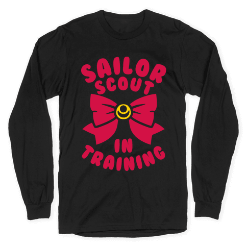 Sailor Scout In Training Long Sleeve T-Shirt