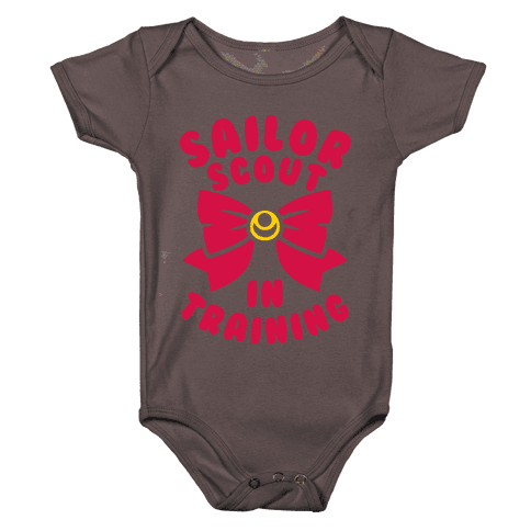 Sailor Scout In Training Baby One-Piece