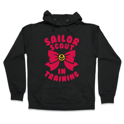 Sailor Scout In Training Hooded Sweatshirt