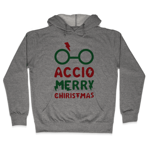 Accio Merry Christmas Hooded Sweatshirt