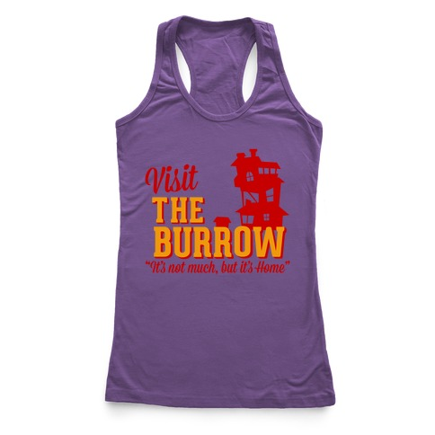 Visit The Burrow Racerback Tank Top