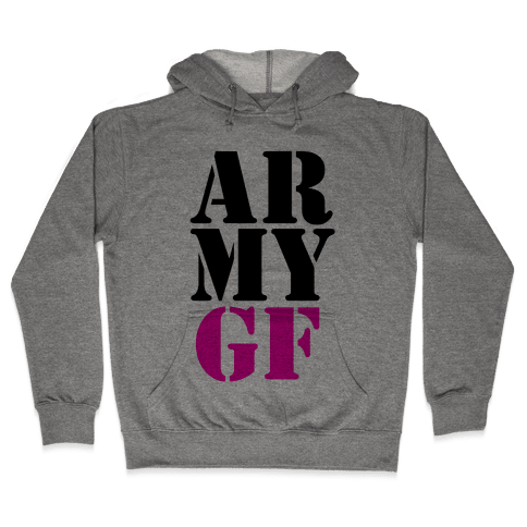 Army GF Hooded Sweatshirt