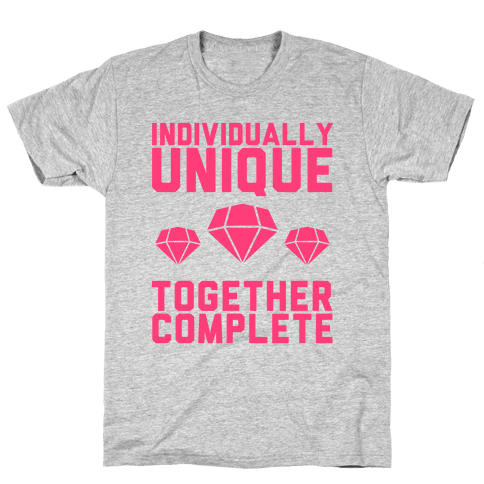 Individually Unique Together Complete Mens T-Shirt