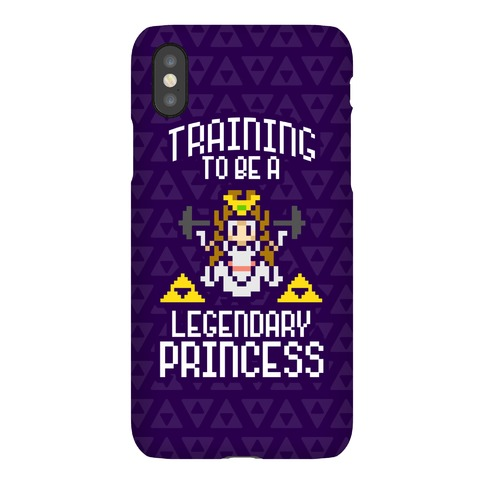 Training To Be A Legendary Princess Phone Case