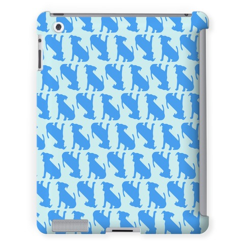 Blue Puppy Pattern