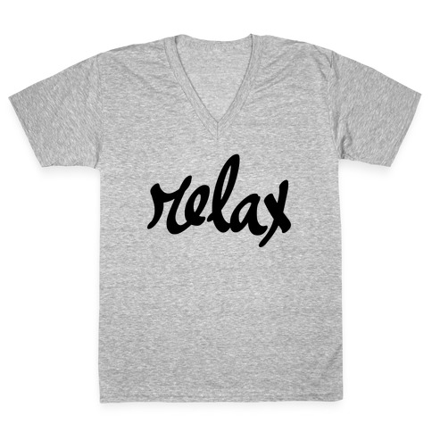 Relax V-Neck Tee Shirt