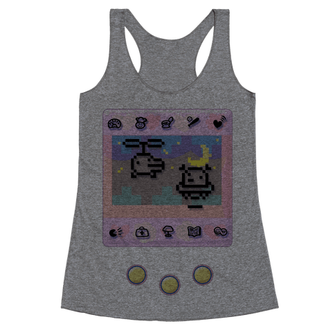 Digital Pet Racerback Tank Top