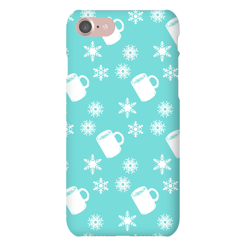 Winter Weather Pattern Phone Case