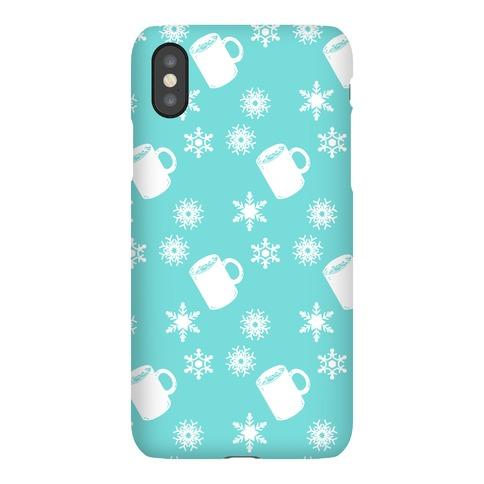 Winter Weather Pattern Phone Case