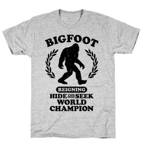 Hide And Seek Champion Mens T-Shirt
