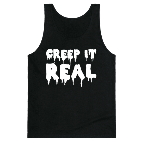 Creep It Real (White) Tank Top