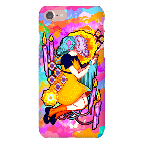 Kaleidoscope Prayer Phone Case