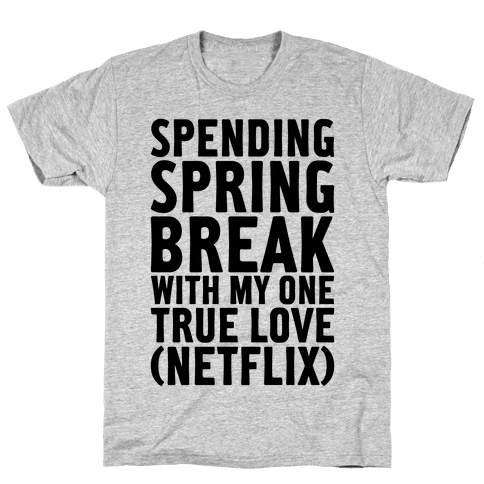 Spring Break With My True Love Mens T-Shirt